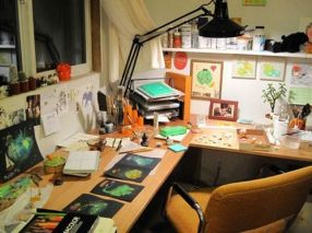 Sometimes all you need to become motivated is a great desk!